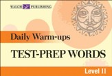 Digital Download Daily Warm-Ups: Test-Prep Words Level II - PDF Download [Download]