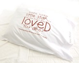 Personalized, Twinkle, Twinkle, Little Star Pillowcase