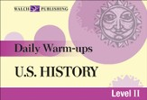 Digital Download Daily Warm-Ups: U.S. History Level II - PDF Download [Download]