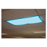 Classroom Light Filters Tranquil Blue, Set of 4