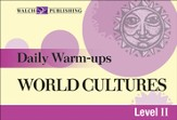 Digital Download Daily Warm-Ups: World Cultures Level II - PDF Download [Download]