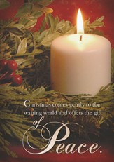 The Gift of Peace, Box of 12 Christmas Cards - Slightly Imperfect