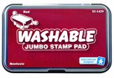 Red Jumbo Washable Stamp Pad