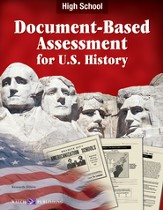 Digital Download Document-Based Assessment U.S. History, High School - PDF Download [Download]