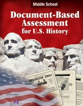 Digital Download Document-Based Assessment U.S. History, Middle School - PDF Download [Download]