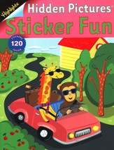 Hidden Pictures Sticker Fun Activity Book #3: Road Trip