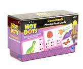 Hot Dots Phonics Flash Cards, Set 2: Consonants