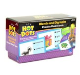 Hot Dots Phonics Flash Cards, Set 4: Blends & Digraphs