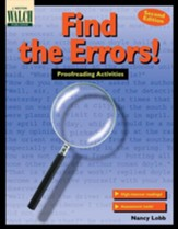 Digital Download Find the Errors! Proofreading Activities - PDF Download [Download]