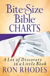 Bite-Size Bible Charts: A Lot of Discovery in a Little Book - eBook
