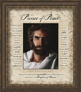 Prince Of Peace, Beatitudes, Framed Art