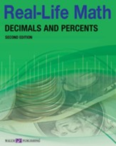 Digital Download Real-Life Math: Decimals and Percents - PDF Download [Download]