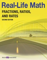 Digital Download Real-Life Math: Fractions, Ratios, and Rates - PDF Download [Download]
