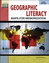 Digital Download Geographic Literacy: Maps for Memorization - PDF Download [Download]