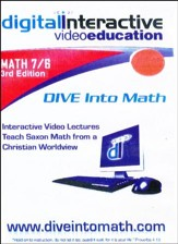 Saxon Math 76, 3rd Edition DIVE CD-Rom
