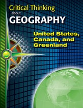 Digital Download Critical Thinking About Geography: United States, Canada, & Greenland - PDF Download [Download]