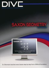 Saxon Geometry 1st Edition DIVE CD-Rom