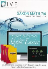 Saxon Math 7/6 4th Edition DIVE CD-Rom