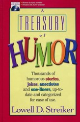 A Treasury of Humor, Book & CD-ROM, Slightly Imperfect