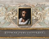 Prince Of Peace, I Am the Way, the Truth, the Life, Mini Framed Art