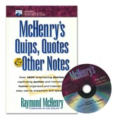McHenry's Quips, Quotes & Other Notes, Book and CD Slightly  Imperfect
