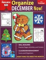 Organize December Now! PreK