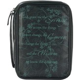 Serenity Prayer Bible Cover, Medium