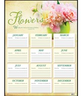 Flower Chart, 1 Chronicles 16:29