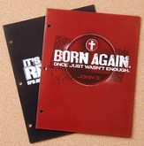 It's Not About Religion and Born Again Folders, 2 Pack