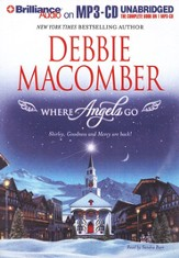 Where Angels Go Unabridged Audiobook on MP3 CD