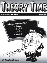 Theory Time for Primer - Grade 3 Teacher's Edition
