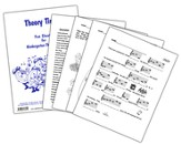 Theory Time Fun Sheets for Kindergarten - Third Grade