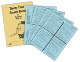 Theory Time Answer Sheets for High School 4A & 4B