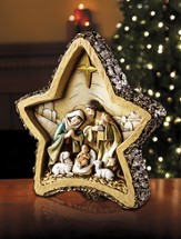 Star Nativity Figurine
