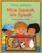 Tomie dePaola's Mice Squeak, We Speak, Board Book
