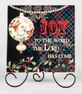Joy to the World, Plaque with Easel Stand