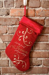 Let the Love of Jesus..., Christmas Stocking