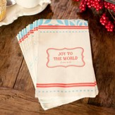 Vintage Fun, Joy To the World Napkins, Package of 16