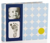 Baby Prints Memory Book, Blue