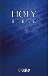 NASB Outreach Bible, Softcover-Case of 32