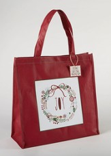 Joy Wreath Tote Bag