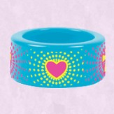 Heart Burst Fun Ring, Size 8