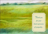 Kind Expressions, Sympathy and Thank You Cards, Box of 12