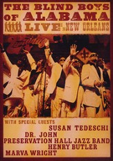 Blind Boys: Live In New Orleans, DVD