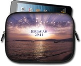 Ocean Sunrise, Jeremiah 29:11 Tablet Case, Small