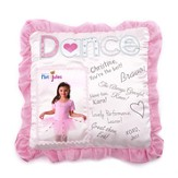 Dance Autograph Pillow