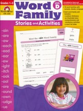 Word Family Stories and Activities, Level D