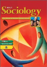 Holt Sociology Homeschool Package