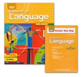 Holt Elements of Language Grade 7 Homeschool Package