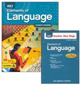Holt Elements of Language Grade 10 Homeschool Package